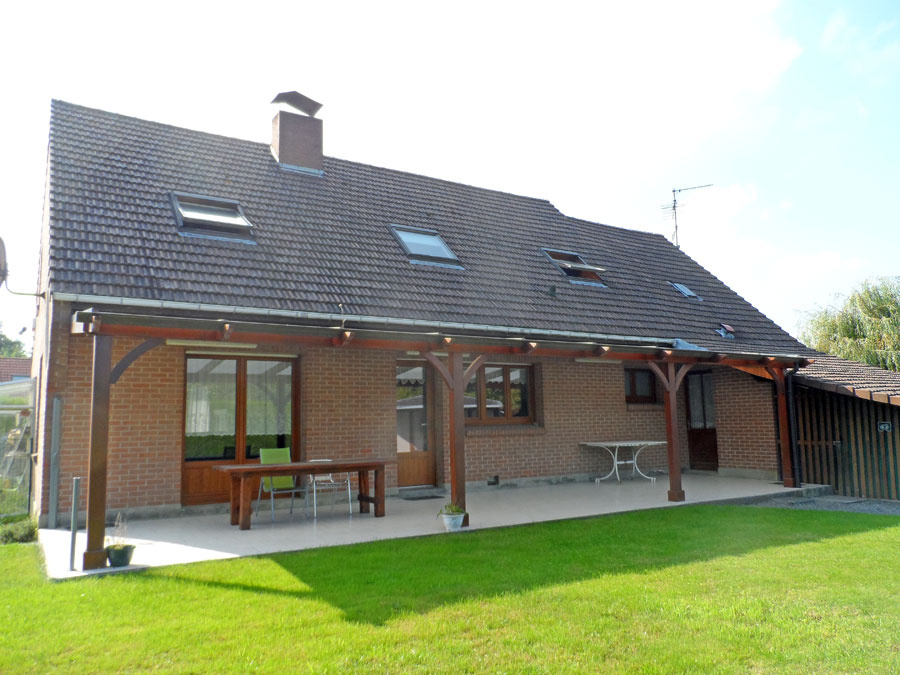 Vente pavillon individuel semi plain pied proche acc s for Maison rosult